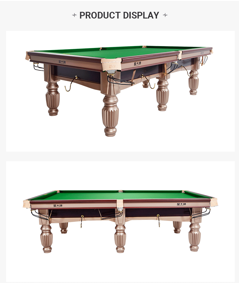 Xingpai Chinese Pool Table XW112-9A Standard Steel Competitive Pool Table