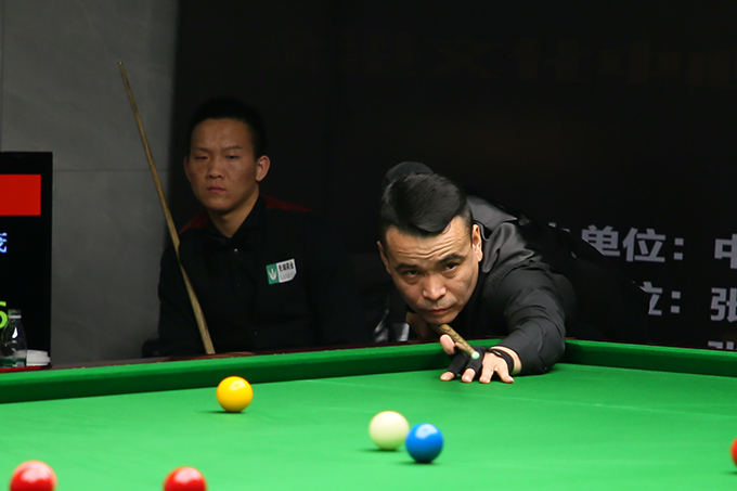 The final battle of the China Tour ends Zhang Yong 5-2 Ma Chunmao wins his first championship
