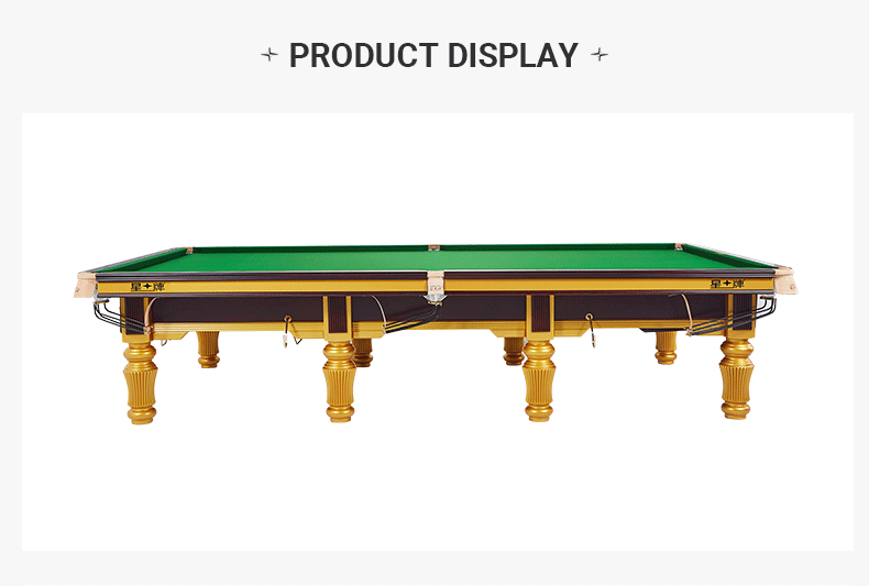 Xingpai British Snooker Steel Library Billiard Table XW101-12S World Championship Table