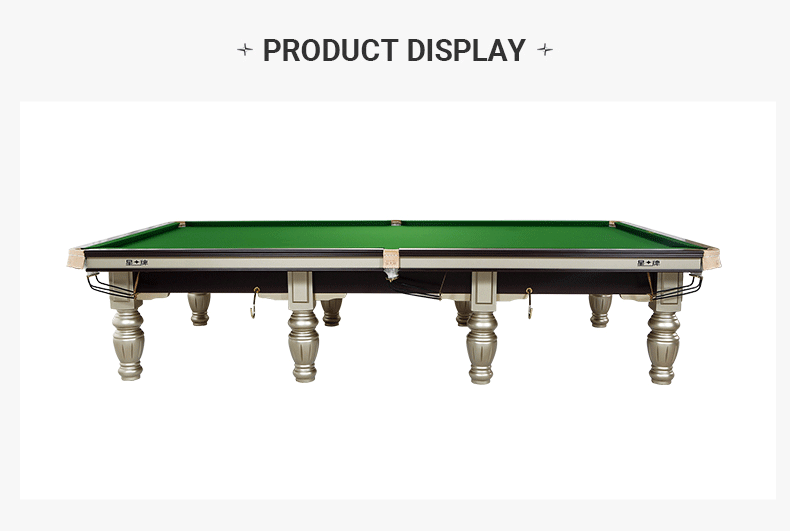 Xingpai British billiard table Snooker steel library billiard table XW106-12S cost-effective table