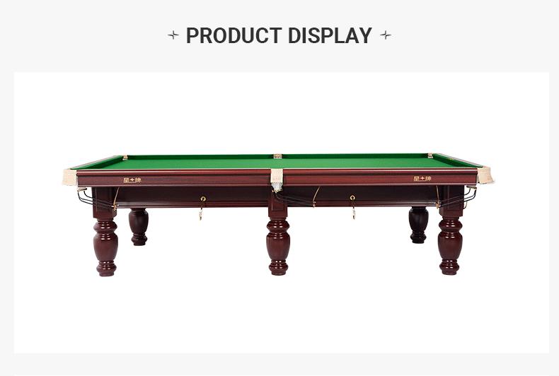 Xingpai British 10-foot Snooker Table XW107-10S Xinjiang Billiards Table