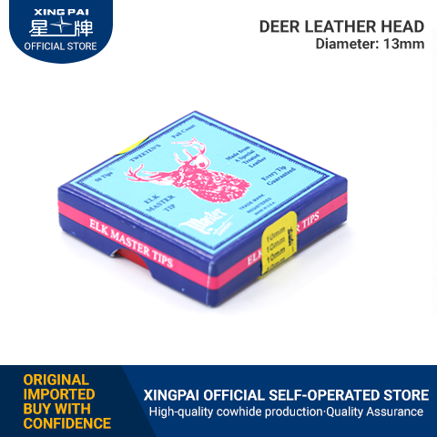 Deer leather head