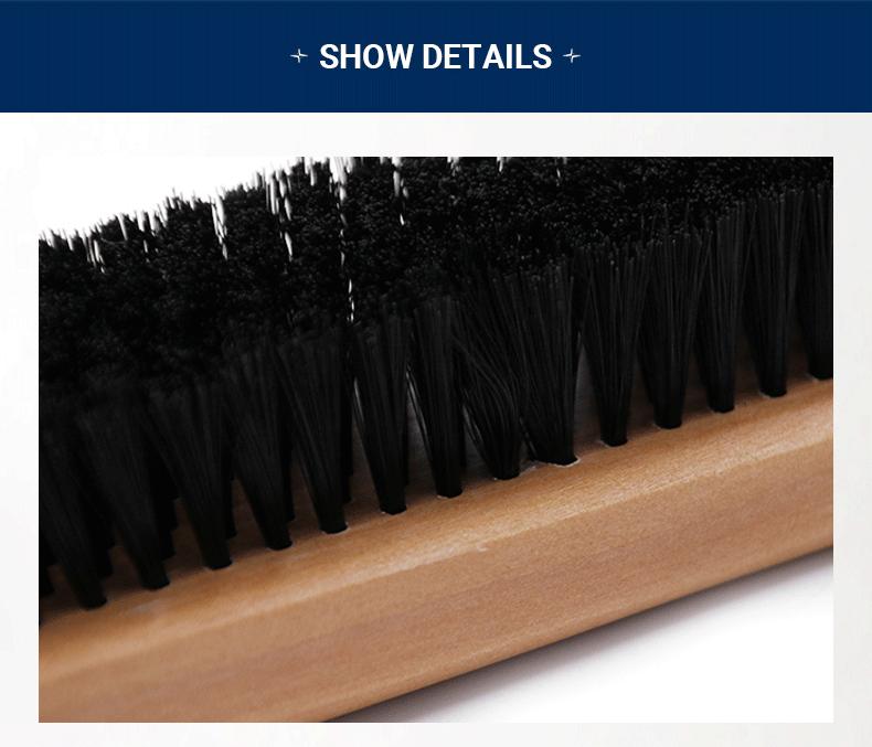 Solid wood billiard brush 9 inch 12 inch