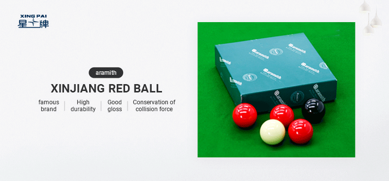 Aramith Xinjiang Red Ball British billiards
