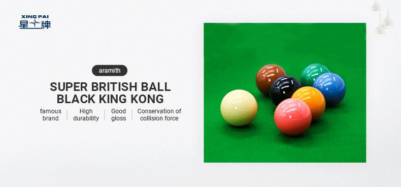 Aramith Black King Kong Snooker Ball