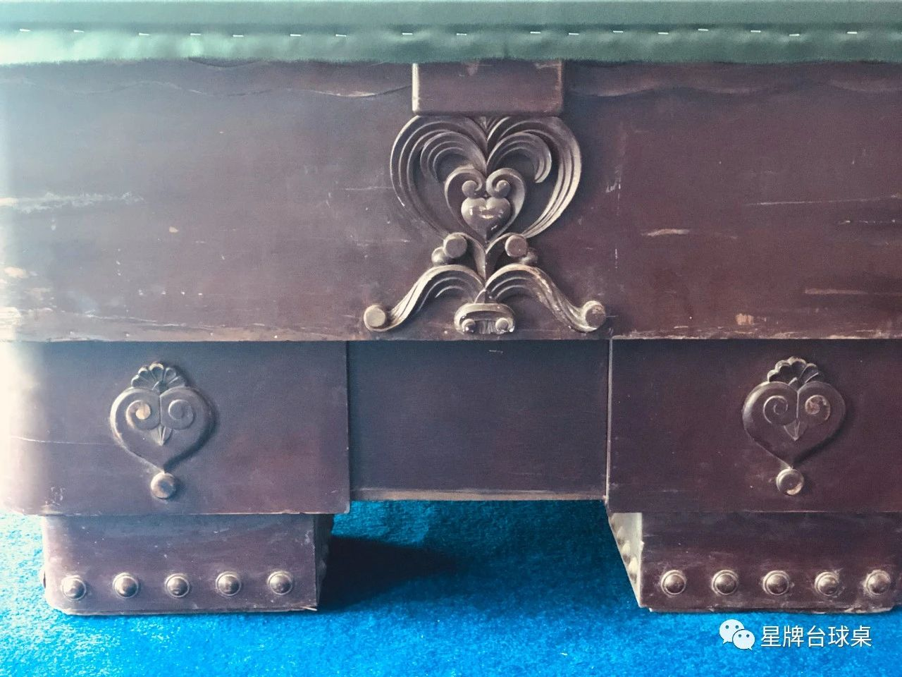 """How to restore the """"antique"""" table?"""